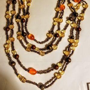 Vintage 5 tier necklace